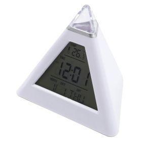 Часы-будильник Ирит-636/термометр, календарь, подсветка/
