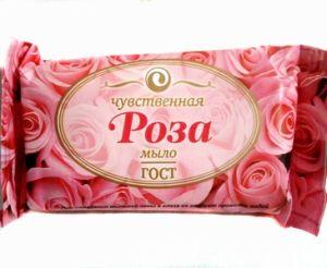 Мыло ЕЖК 150г  Роза в обертке