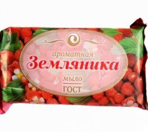 Мыло ЕЖК 150г Земляничное в обертке