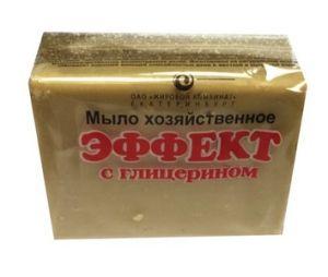 Мыло Хоз 74% ЕЖК 300г Эффект п/п