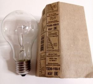 Лампа  излучатель 150Вт  Е27