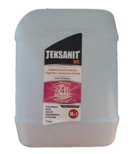 Моющ универсал Тексанит 5л гель с хлором