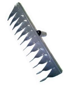 Грабли металл 12-зуб витые