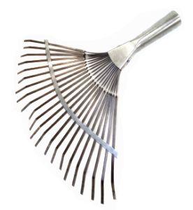 Грабли веер металл 22-зуб  плоские