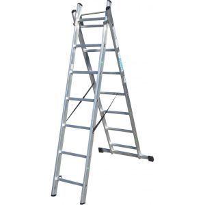 Лестница приставная Элкоп 2 секции 12 ступеней
