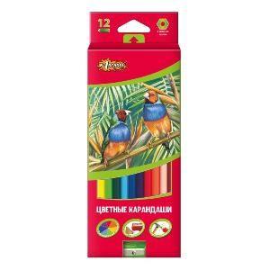 Карандаши цветные 12шт