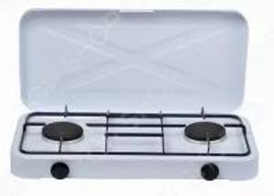 Плита газовая  2х комфорочная Ирит-8503 с крышкой