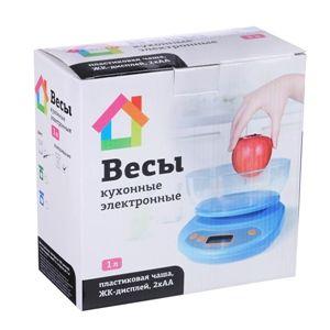 Весы кухонные электронные 5кг с чашей 1л /СХ-046
