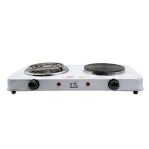 Плитка электр 2 конф диск/спираль Ирит 8222, 1000Вт