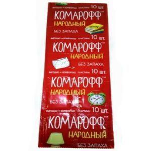 Таблетки Комарофф 10 Народный б/запаха
