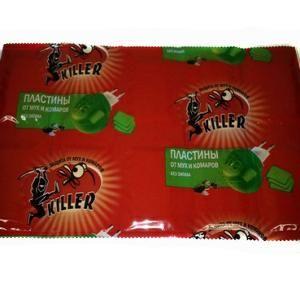 Таблетки Киллер 10 от мух и комаров