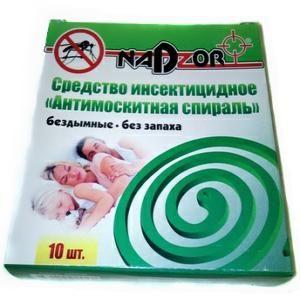 Спираль Надзор б/запаха