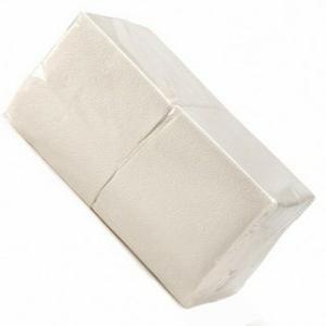 Салфетки 400л белые 1сл 24*24