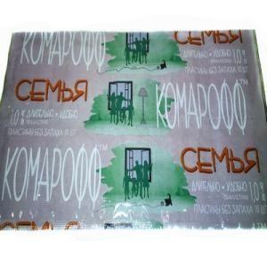 Таблетки Комарофф 10 Семья б/запаха