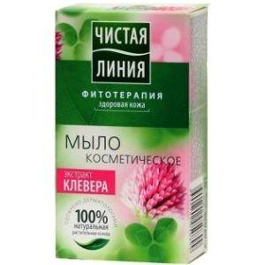 Мыло Чистая линия /косметическое/ 80-90г
