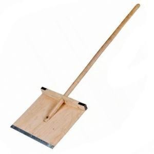 Лопата снег дерево с черенком 350*380