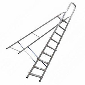 Лестница стремянка  9 ступ Пирамида алюминий