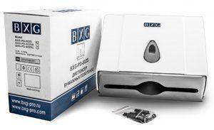 Диспенсер BXG-8025 полотенец бум Z сложения /240*180*90мм, замок/