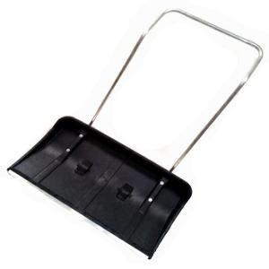 Движок для снега 820*450 пластик №8 на колесах  металл ручка