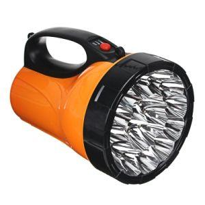 Фонарь прожектор Чингисхан светодиодный аккумулятор 220В 18*11см