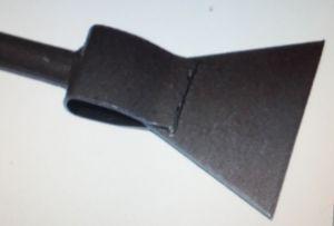 Ледоруб  Б2 с топором (сварной) ручка металл с резин