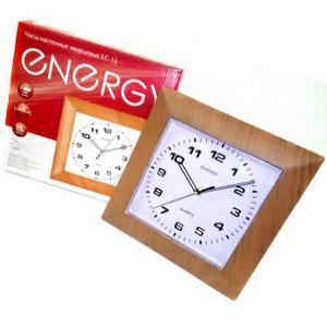 Часы настенные Энерджи ЕС-14 квадратные