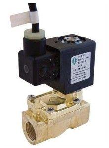 Клапан электромагнитный латунь ВР 3/4 непрямого действия