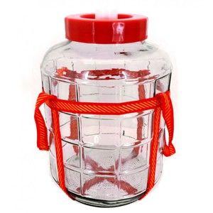 Бутыль стекло 18л с гидрозатвором
