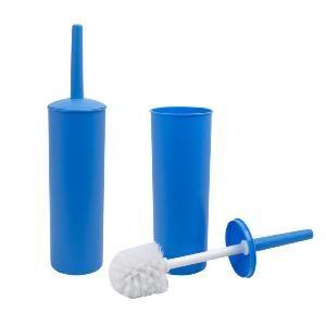 Ерш туал комплект напольный с крышкой пластик