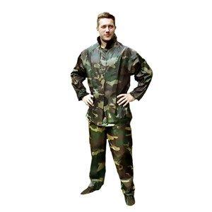 Костюм  Камуфляж (штаны+куртка с капюшоном), XXXL, 180мкр.