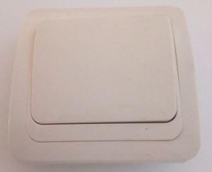 Выключатель скр Форза 1кл  Классика Бежевый 10А 250В керамика