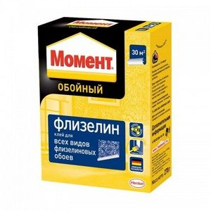 Клей обойный Момент Флизелин 250гр