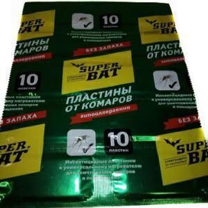 Таблетки Супер Бат 10 б/запаха зеленые
