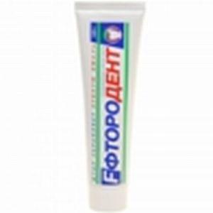 Зубная паста Фтородент 125 без футляра