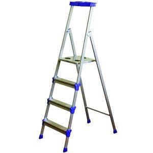 Лестница стремянка  4 ступ серебро