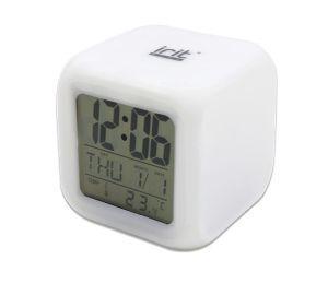 Часы-будильник Ирит-600 /термометр, календарь, подсветка/