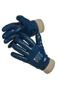 Перчатки Х/Б обливные нитриловые