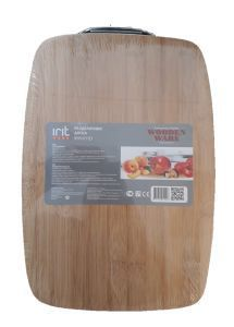 Доска разд 340*240*40мм бамбук Ирит-011