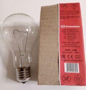 Лампа  излучатель 200Вт  Е27