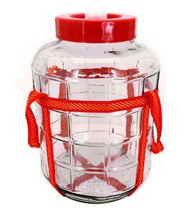 Бутыль стекло 23л с гидрозатвором