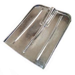 Лопата снег оцинков 400*420 с ребрами жесткости
